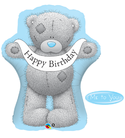 Happy Birthday Me To You Tatty Teddy Super Shape Foil Balloon